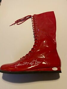 "Autographed Ric Flair Full Size Wrestling Boot JSA Certified ""Nature Boy"""