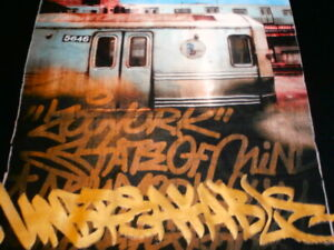 UNBREAKABLE Zoo York No Fear T-Shirt ZOOYORK NYC NY TAXI MENS L SHIRT GRAFFITI