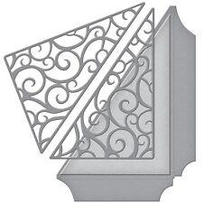 Spellbinders Shapeabilities Die: Filigrana tasca laterale (s4-612)