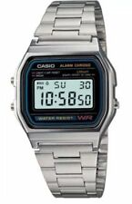 Retro Digital Unisex Casio Watch A-158w A158 Silver