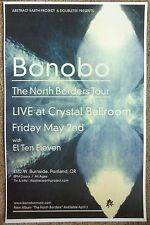 BONOBO 2013 Gig POSTER Portland Oregon Concert