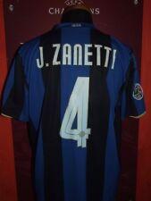 J.ZANETTI INTER 2008/2009 XL MAGLIA SHIRT CALCIO FOOTBALL MAILLOT JERSEY SOCCER