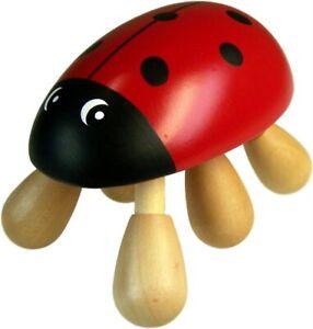 Wooden Ladybird Massager