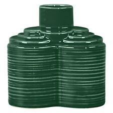Orla Kiely Single Stem Vase, Green, H7.5cm
