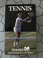 Fax Pax Tennis Card Set (38 Cards)