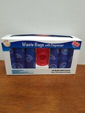 Pet All Star Waste Bags 360 Count With Dispenser. Free Shipping.