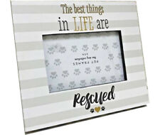 """""""The best things in life are rescued"""" Picture frame for 6x4"""" picture"""