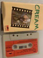 CREAM FRESH CREAM CASSETTE TAPE 1966 RED PAPER LABEL POLYDOR U