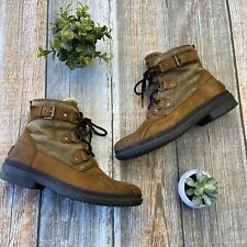 UGG Womens Size 10 Brown Cecile Waterproof Leather Duck Boots