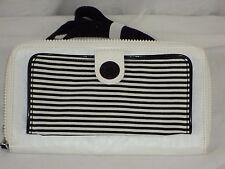 Kipling Wallet On A String White & Black Cross Body Handbag