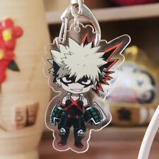 Boku No My Hero Academia Katsuki Bakugo Chibi Character Keychain Anime Manga