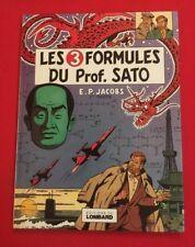 LES 3 FORMULES PROF SATO T1 MORTIMER 1977 EO LOMBARD BON ÉTAT BD BANDE DESSINÉE