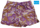 NWT THE CHILDREN'S PLACE Girls Purple  Brown Floral Print Shorts 12M, 18M NEW