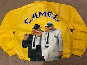 Vintage 90's CAMEL CIGARETTES Windbreaker Paper Jacket Size XL Mint Unopened