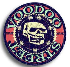 HOT Rod Custom Chopper Decalcomania Old Skool, VOODOO Street, Impermeabile, stampa di qualità