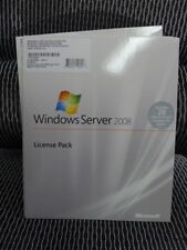 Microsoft Windows Server 2008 Standard Enterprise Datacenter USER CAL 20 (NEW)