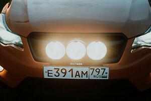 Bracket holder for Subaru XV Crosstrek Bull Bar License Bumper Light Mount