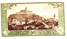 1921 Germany SIEGBURG 50  Pnennig  Notgeld / Banknote