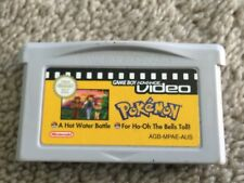 POKEMON HOT WATER BATTLE & FOR HO-OH THE BELLS TOLL GAMEBOY ADVANCE VIDEO - GBA