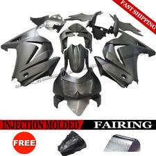 Matte Black Injection Fairing Kit Bodywork Set For Kawasaki Ninja 250R 2008-2012