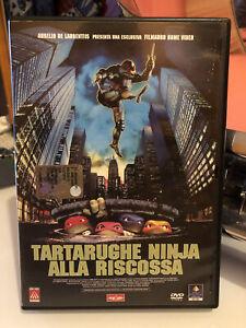 🐢 Dvd Tartarughe Ninja Alla Riscossa 🐢