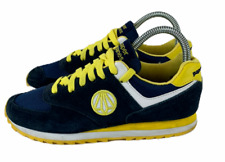 Paperplanes Shoes Navy Blue /Yellow Women's Size 3