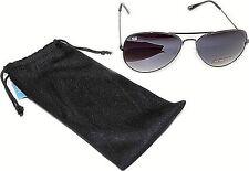 Mens Pilot Aviator Style Fashion Sunglasses UV400 Shades 80s Retro Top Gun