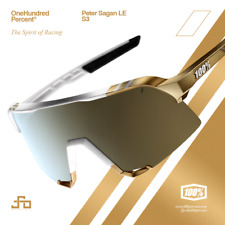 100% Percent Cycling S3 Sunglasses - Peter Sagan LE White Gold