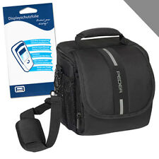 Kamera Tasche M + Folie für Canon EOS 70D 77D 200D 550D 1300D Nikon D500 D750