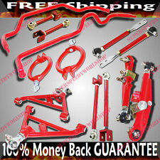 240SX S13 Combo Camber Kits Toe Traction Rod Lower Control Arm Sway Bar