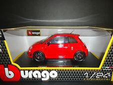 Bburago Fiat Abarth 695 Tributo ROJO 1/24