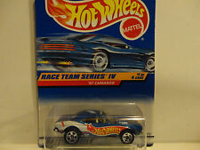 Hot Wheels #725 Blue '67 Camaro w/5 Spoke Wheels No Country Base VHTF