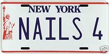 Lenny Dykstra Nails New York Mets 1986 NY License plate
