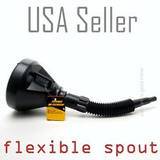 OIL FUNNEL with Screen Filter Diesel Gasoline Kerosene Fuel Flexible Spout TH02