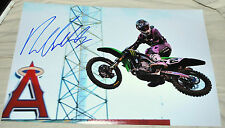 "RYAN VILLOPOTO Signed 12x18"" Photo #4 -  Supercross Motocross Champ"
