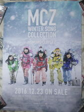 Momoiro Clover Z MCZ WINTER SONG COLLECTION 2016 Taiwan Promo Poster