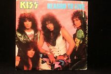 """KISS """"Reason To Live/Thief In The Night"""" 45 rpm Rec 7"""" w/Picture Sleeve 1987"""