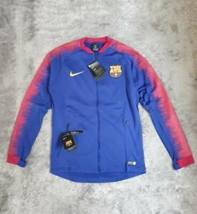 Men's Nike FC Barcelona Anthem Jacket 894361-456 Royal Blue sz M L 2XL