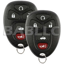 2x Remote Start Keyless Entry for 22733524 Replacement Transmitter Control Alarm