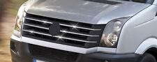 BARETTES BAGUETTES CALANDRE GRILLE CHROME VW CRAFTER W906 2012+
