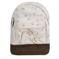 Mini Women Girls Kids Canvas Coin Bag Floral Backpack Cheap Storage Bag Pouch Y3