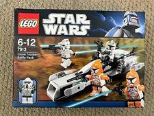 LEGO Star Wars 7913 CLONE TROOPER BATTLE PACK Unopened BNIB Rare set!!