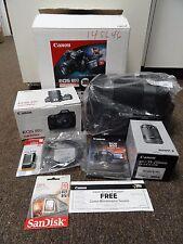 New Canon EOS 80D DSLR Camera - Bundle 2 x STM Lenses + OEM Bag + Bonus Battery