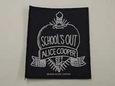 Alice Cooper School'S Out Woven Patch