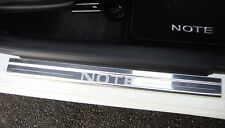 Lockwood Nissan Note (12>) Stainless Steel Plate Car Door Sill Protectors - K06X