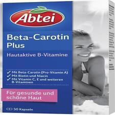 ABTEI Beta-Carotin Plus Hautaktive B-Vitamine Kps. 50 St PZN 11559302