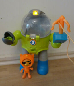 Octonauts Octomax Kwazi's OCTO MAX SUIT with missile launcher, lights & sounds