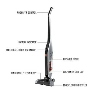 Hoover LiNX Cordless Upright Rechargeable Stick Vacuum Cleaner, BH50010