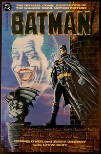 Batman the Movie Adaptation Graphic Novel - Michael Keaton NM - Never Opened!
