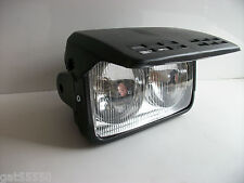 New Universal Twin Motorcycle Headlight Streetfighter Custom Enduro Xlr Dtr Gsxr